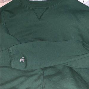 Champion Men's Cotton Max Crew Sweatshirt